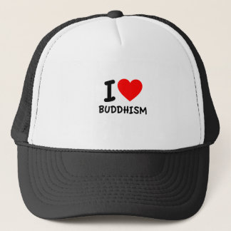 Boné Eu amo o budismo