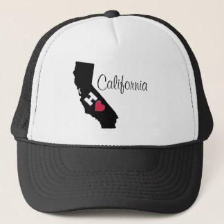 Boné Eu amo o chapéu de Califórnia