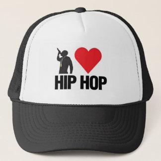Boné Eu amo o chapéu de Hip Hop