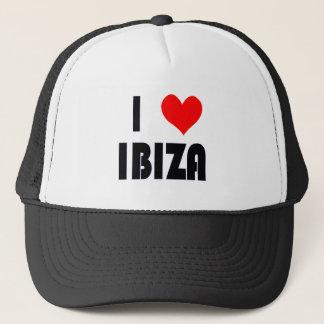 Boné Eu amo o chapéu de Ibiza