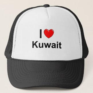 Boné Eu amo o coração Kuwait