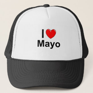 Boné Eu amo o coração Mayo