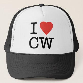 Boné Eu amo o CW