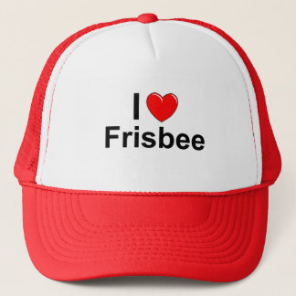 Boné Eu amo o Frisbee do coração