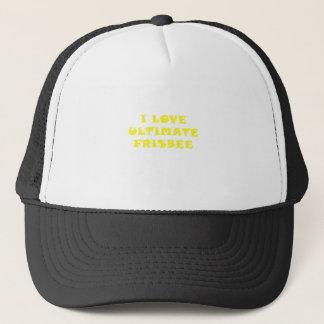 Boné Eu amo o Frisbee final