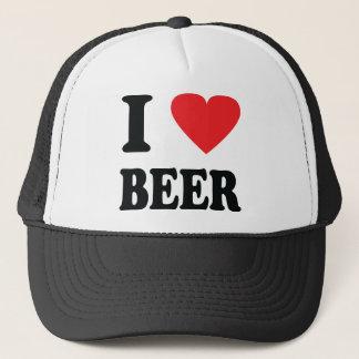 Boné Eu amo o ícone da cerveja