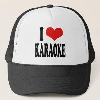 Boné Eu amo o karaoke