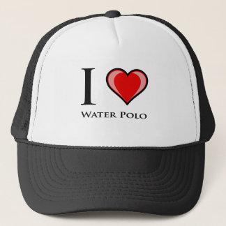 Boné Eu amo o pólo aquático
