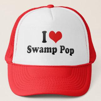Boné Eu amo o pop do pântano