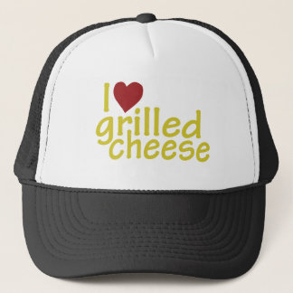 Boné Eu amo o queijo grelhado
