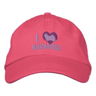 Boné Eu amo o rosa de Havanese