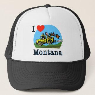 Boné Eu amo o táxi do país de Montana