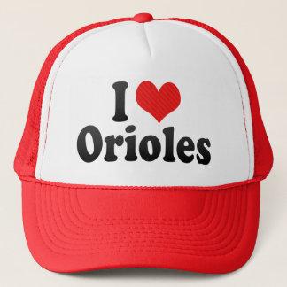 Boné Eu amo Oriole