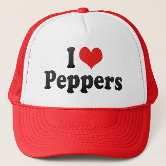 Boné Eu amo pimentas