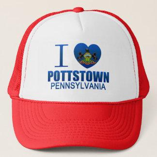 Boné Eu amo Pottstown, PA