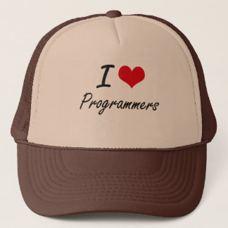 Boné Eu amo programadores