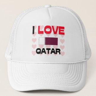 Boné Eu amo Qatar