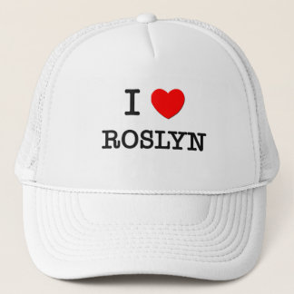 Boné Eu amo Roslyn