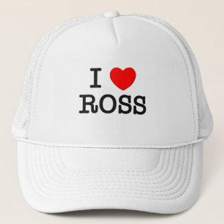 Boné Eu amo Ross