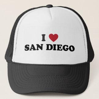 Boné Eu amo San Diego Califórnia