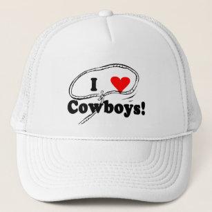 Boné Eu amo t-shirt e presentes dos vaqueiros 1dd363e37b5