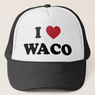 Boné Eu amo Waco Texas