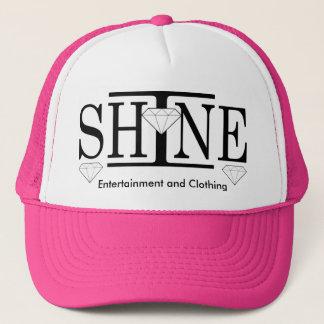 Boné Eu brilho o chapéu do camionista do logotipo