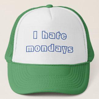 Boné Eu deio segundas-feiras