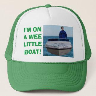 Boné Eu estou em um barco pequeno pequenino