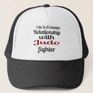 Boné Eu estou em uma relação cometida com lutador do