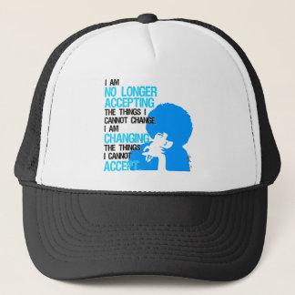 Boné Eu estou mudando o chapéu do camionista das coisas