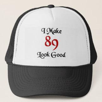Boné Eu faço o olhar 89 bom