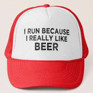 Boné Eu funciono porque eu gosto realmente do chapéu do