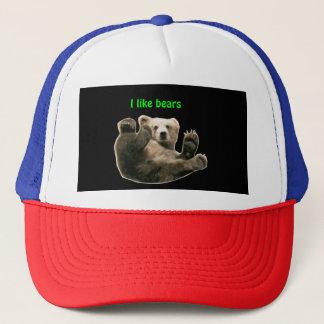 Boné Eu gosto do chapéu dos ursos