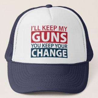 Boné Eu manterei minhas armas, você mantenho sua