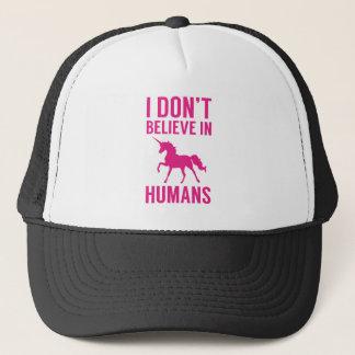 Boné Eu não acredito nos seres humanos