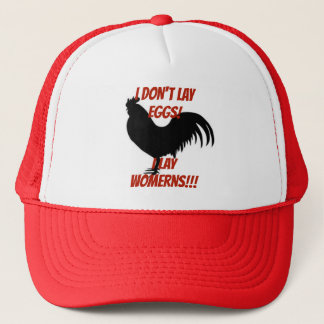 Boné Eu não coloco ovos que eu coloco o chapéu do