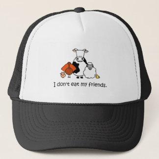 Boné Eu não como meus amigos