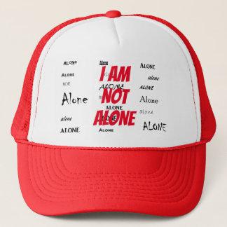 Boné Eu não estou sozinho