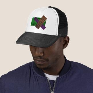 Boné Eu obtive o chapéu do camionista dos bares