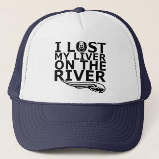 """Boné """"Eu perdi meu fígado chapéu do camionista no rio"""""""