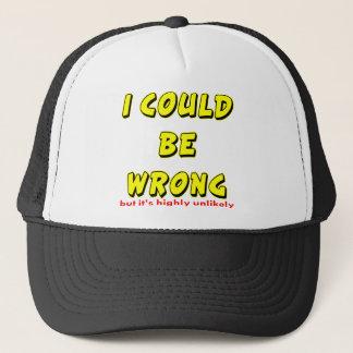 Boné Eu poderia ser errado mas é altamente improvável