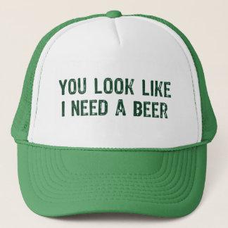 Boné Eu preciso uma cerveja