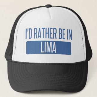Boné Eu preferencialmente estaria em Lima