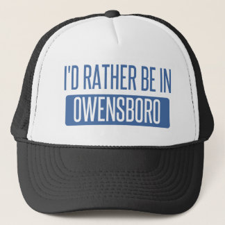Boné Eu preferencialmente estaria em Owensboro