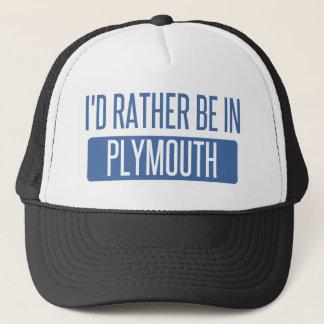 Boné Eu preferencialmente estaria em Plymouth