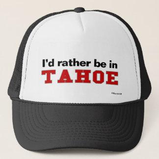 Boné Eu preferencialmente estaria em Tahoe