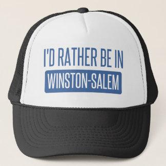 Boné Eu preferencialmente estaria em Winston-Salem