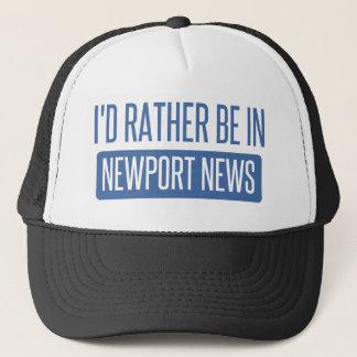 Boné Eu preferencialmente estaria na notícia de Newport