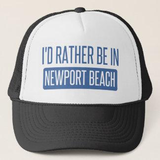 Boné Eu preferencialmente estaria na praia de Newport